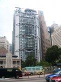 Táto budova HSBC banky je postavená v štýle Feng Šuej.